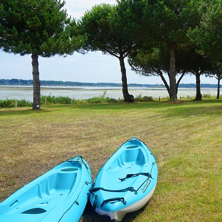 kayaks à disposition